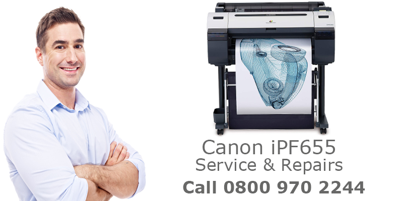 canon ipf655 printer repair service