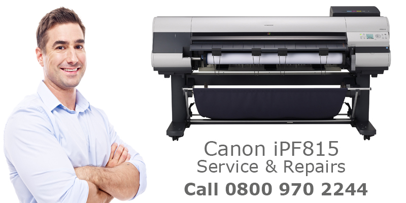 canon ipf815 plotter repairs