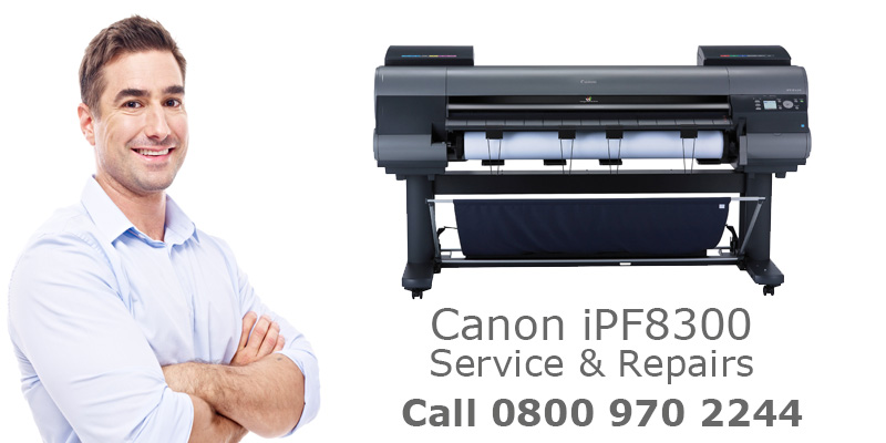 canon ipf8300 service and repair